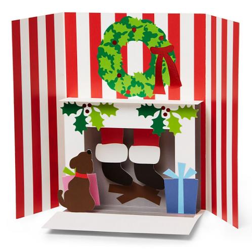 Moma 3d Holiday Cards (8pcs) - Holiday Hearth