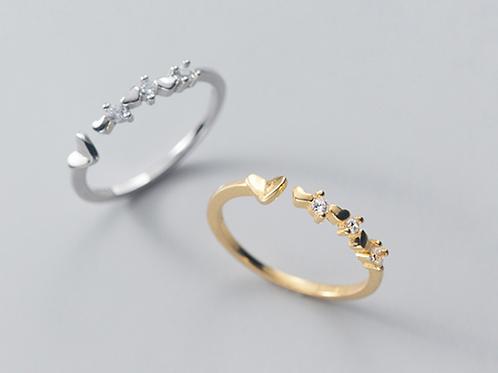 CZ Sweetheart Ring - MOOII
