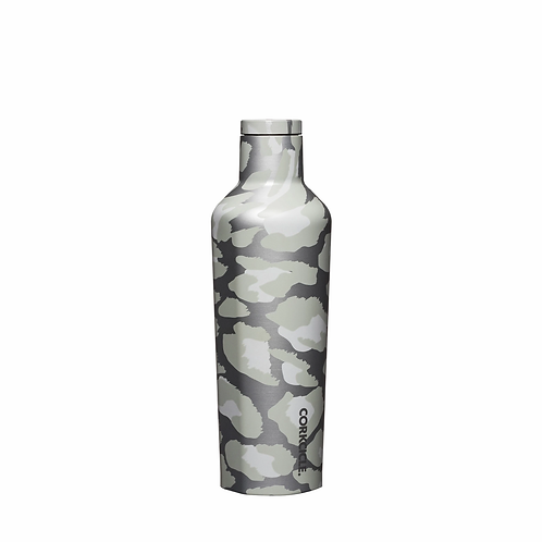 Corkcicle: Exotic Canteen 475ml - Snow Leopard