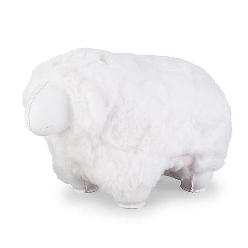 Bookend Sheep White Zuny