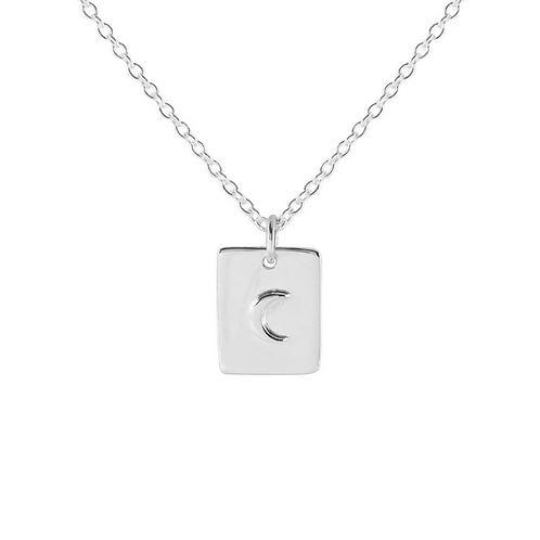 Celestial Medallion Sterling Silver Necklace