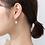 Thumbnail: Sterling Silver Padlock Earrings - MOOII