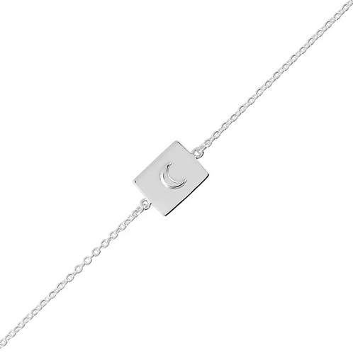 Celetial Medallion Sterling Silver Bracelet