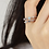 Thumbnail: Double Line Adjustable Ring - MOOII