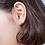Thumbnail: Fish Tail Sterling Silver Ear Studs - MOOII
