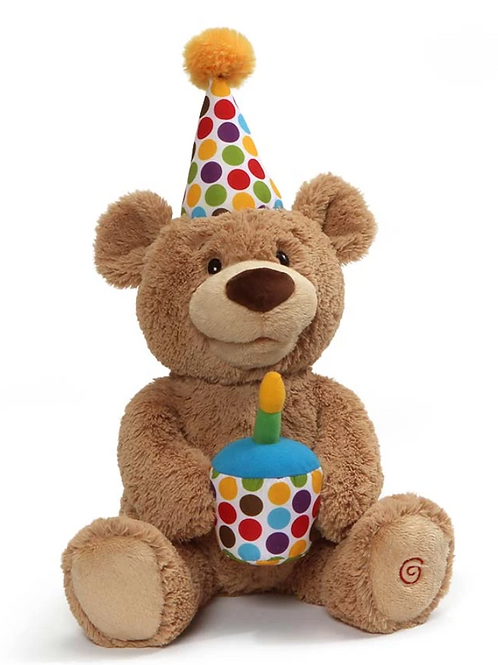 Happy Birthday Animated Teddy