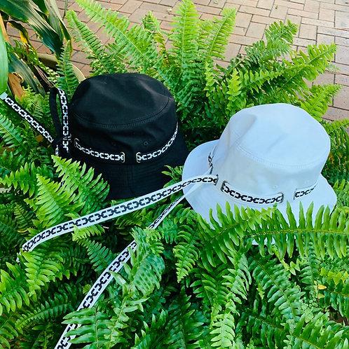 Korean Design Fashion Fisherman Hats with String - Chain