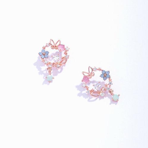 Blooming Garden Butterfly Earring - MOOII