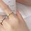Thumbnail: CZ Sweetheart Ring - MOOII