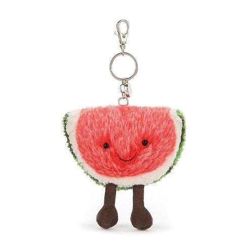 Jellycat Amuseable Watermelon - Bag Charm