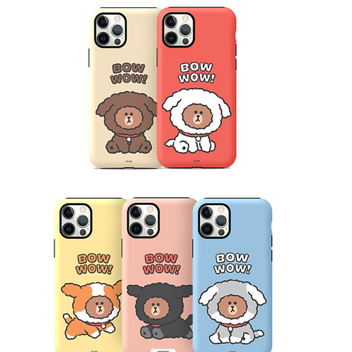 Line Friends Brown and Friends Puppy Brown Phone Case