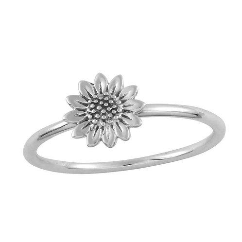 Delicate Sunflower Ring
