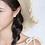 Thumbnail: Love Heart Golden Earrings  - MOOII