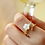 Thumbnail: Creamy Sakura and Butterfly Ring - MOOII