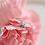 Thumbnail: Double Band Diamond and Coloured Crystal Ring