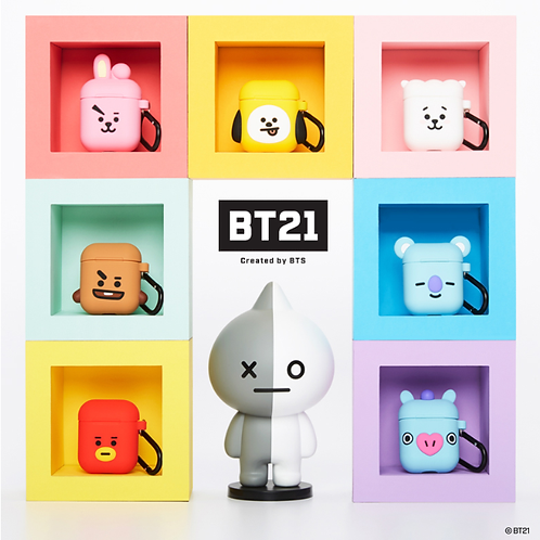 Linefriend/BT21 Airpod Case (Cube Series)