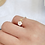 Thumbnail: Creamy Shell Flower Petite Ring - MOOII