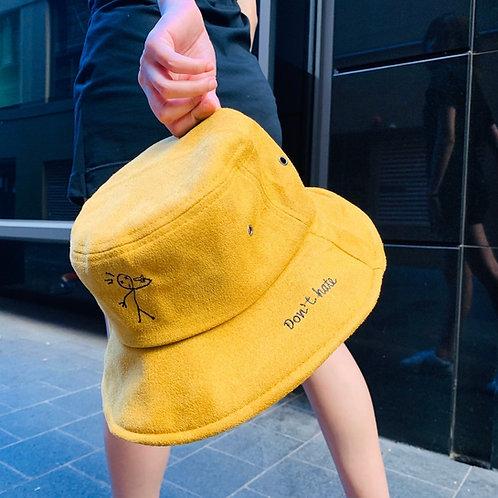 Korean Design Bucket Hats - Doodle