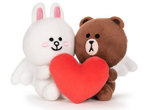 Linefriends Bear Cupid Love