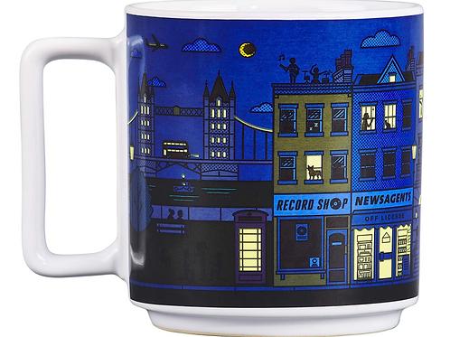 Heat Changing London City Ceramic Novelty Mug