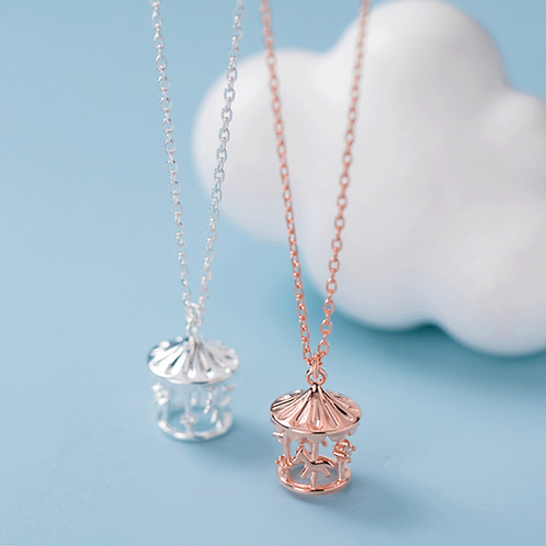 Carousel Charm Necklace - MOOII