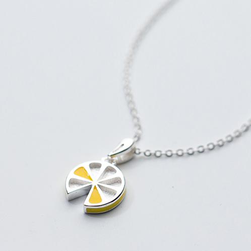 Lemon Slice Necklace - MOOII