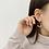 Thumbnail: MOOII Tear Drop Wreath Earring