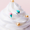Thumbnail: Gelato and Cake Slice Sterling Silver Ear Studs - MOOII