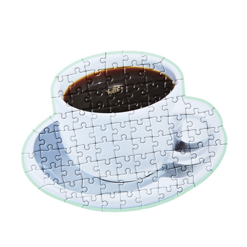 Little Puzzle Thing Series 4 Jigsaw Areaware (Coffee)
