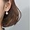 Thumbnail: Double Meteorite Underlobe Earrings - Mooii