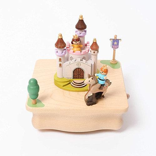 Wooderful Life Unicorn & Prince Music Box