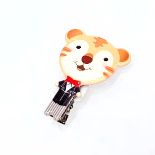 MOOII Resin Hair Clip Little Tiger
