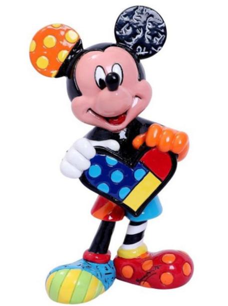 RB Mini Figurine Mickey Holding Heart