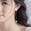 Thumbnail: Shell Pearl Threader Earring - Mooii