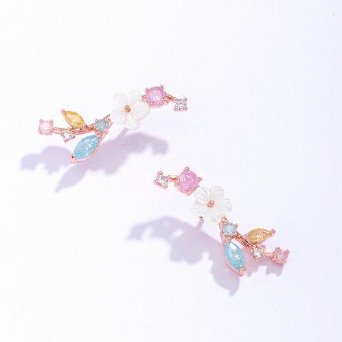 Sakura Climber Earring - MOOII