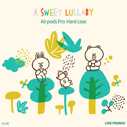 Sweet Lullaby AirPods Pro Hard Case