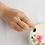 Thumbnail: Pastel Flower Doubleline Ring- MOOII