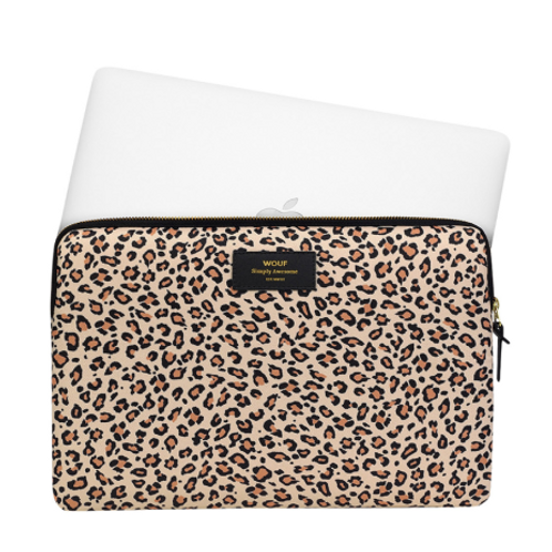 Wouf Laptop Sleeve Pink Savannah