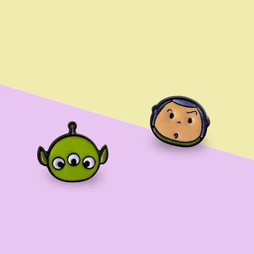 MOOII Disney Ear-Stud Squeeze Toy Aliens