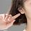 Thumbnail: Panda Face Tiny Ear Studs - MOOII