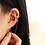 Thumbnail: Flower Ear Cuff with Threader - MOOII