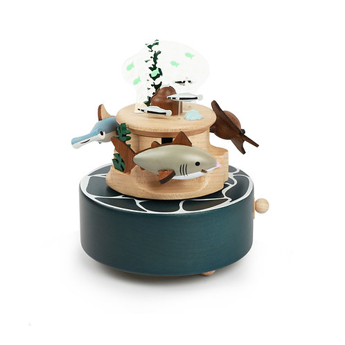 Wooderful Life Deep Sea Roaming Music Box