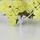 Thumbnail: All Silver MOOII Tear Drop Crystal Necklace