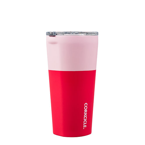 Corkcicle Colour Block Tumbler 475ml - Shortcake Insulated Stainless Steel Cup