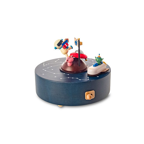 Wooderful Life Birthday in Outer Space Music Box