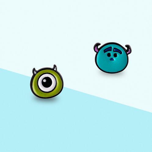 MOOII Disney Ear-Stud Monster  Inc