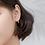 Thumbnail: Water Drop Sterling Silver Ear Earrings - MOOII