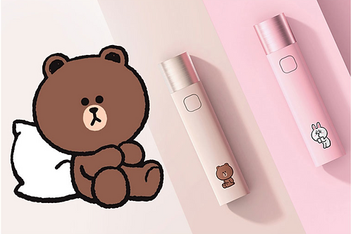 Linefriends Power Bank and Torch
