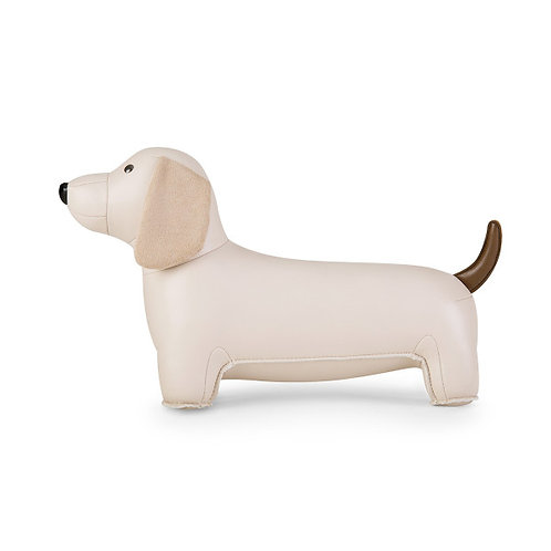 Bookend Classic Dachshund Wheat