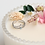 Thumbnail: Double Band Crown Cubic Zirconia Floral Ring -MOOII